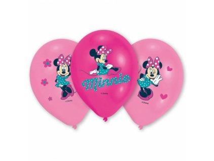Balóny Minnie 6 ks