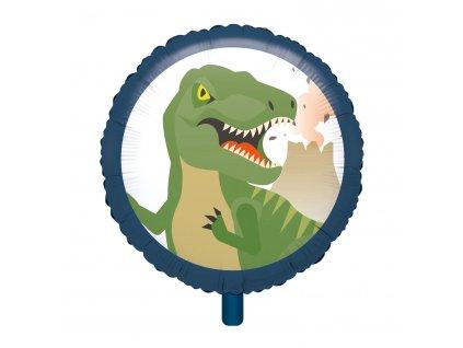 foliový balon dinosaurus
