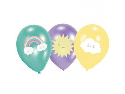 latexové balony