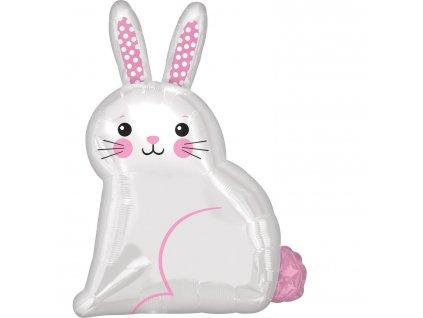 Fóliový balón - Zajačik 40 cm x 55 cm