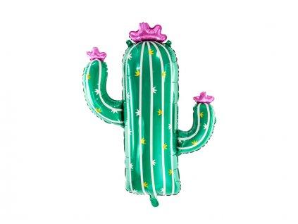foliový balon kaktus
