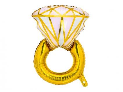 foliový balon prsteň