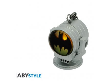 dc comics keychain 3d premium bat signal x2 (1)