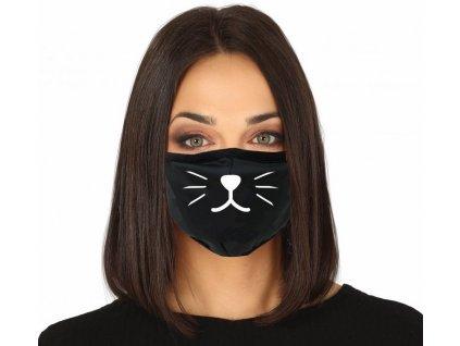Ochranné rúško s motívom mačky 1 ks