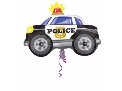 Fóliový balón policajné auto 60 x 45 cm