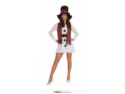 Dámsky kostým - Snehuliak