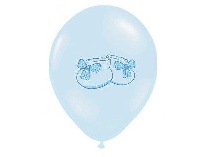 Balónik - modré topánočky