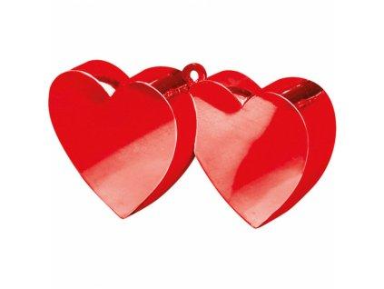 Závažie na balóny Srdcia červené