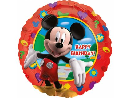 Fóliový balón - Mickey Happy Birthday