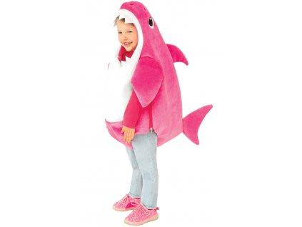 Detský kostým Baby Shark - ružový