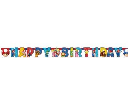 Banner - Super Mario 190 x 15 cm