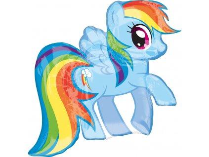 Foliový balón - My Little pony modrý