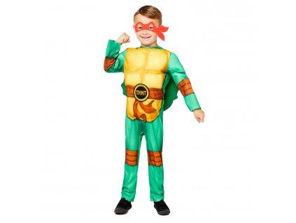 Detský kostým - TMNT Ninja Korytnačky chapčenský