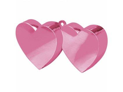 Závažie na balóny Srdcia ružové