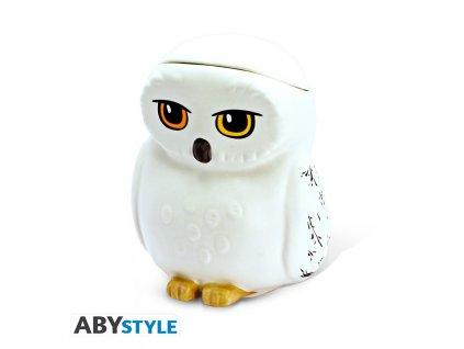 harry potter mug 3d hedwig x2
