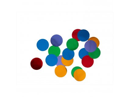 Konfety - farebný mix