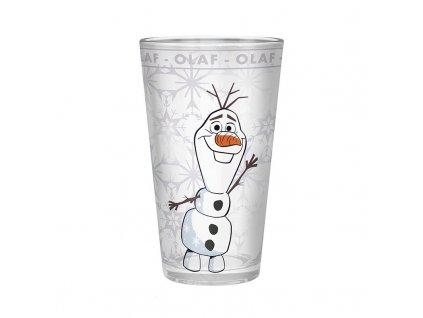 disney large glass 400môl frozen 2 olaf x2 2
