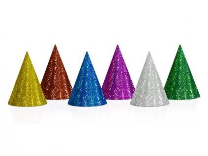 Holografické párty klobúčiky 1 ks