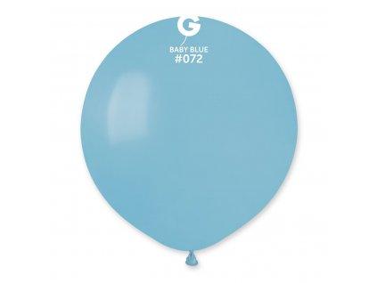Balón pastelový - baby modrý  48 cm