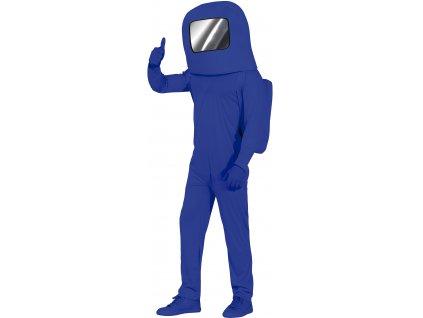 Detský kostým - Among US modrý