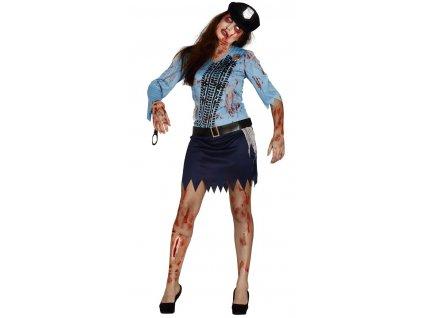 Kostym Zombie policajtka