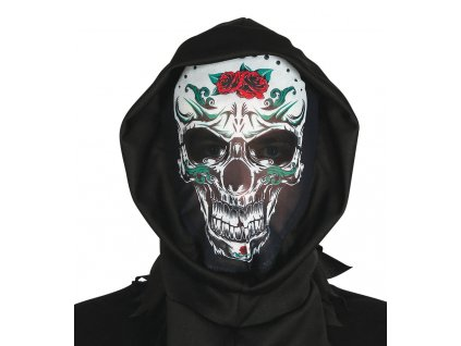 Maska s potlacou lebky