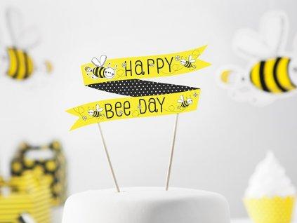 Ozdoba na tortu Včielka