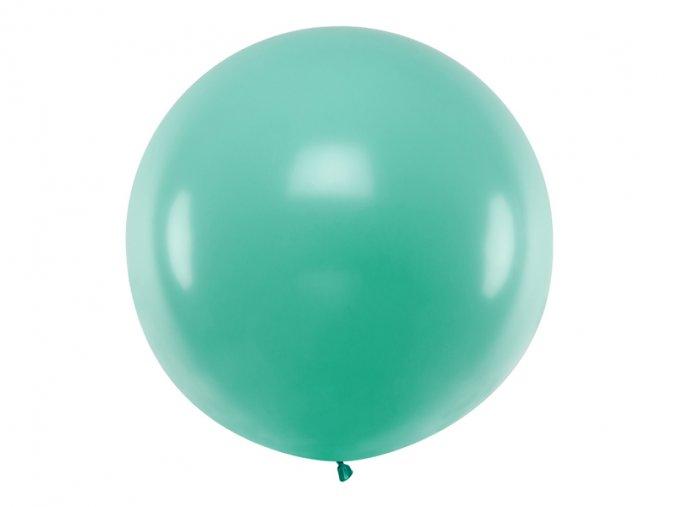 Guľatý latexový Jumbo balón 1m lesná zelená