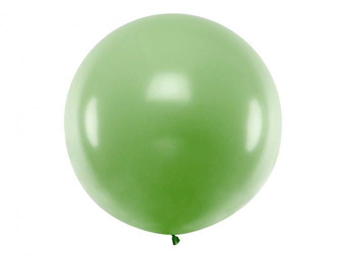 Guľatý latexový Jumbo balón 1m zelený