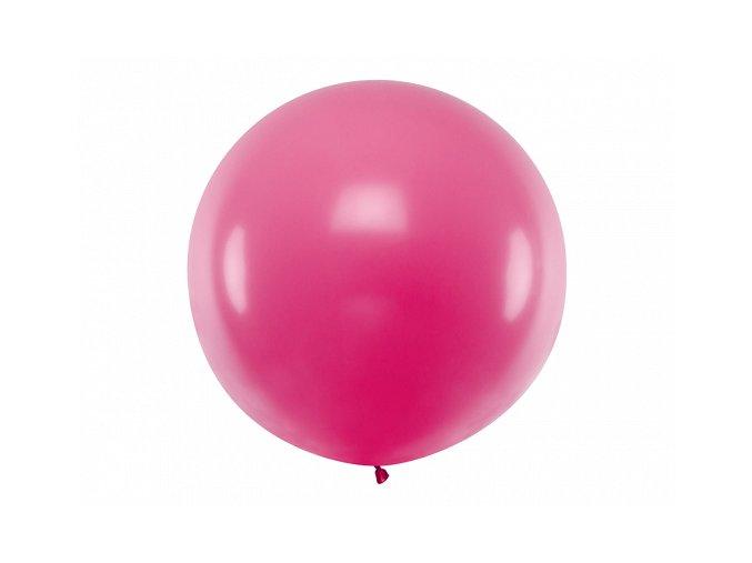 Guľatý latexový Jumbo balón 1m fuchsia