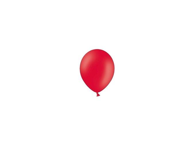 Lacny balon pastelovy cerveny