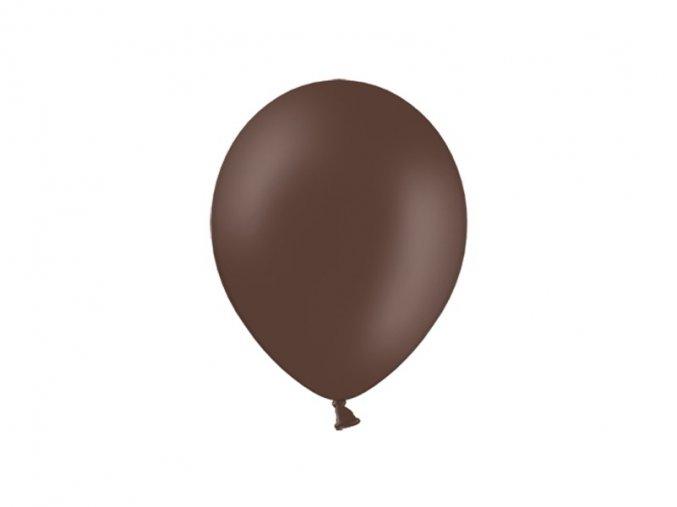 Lacny balon pastelovy kakaovy hnedy
