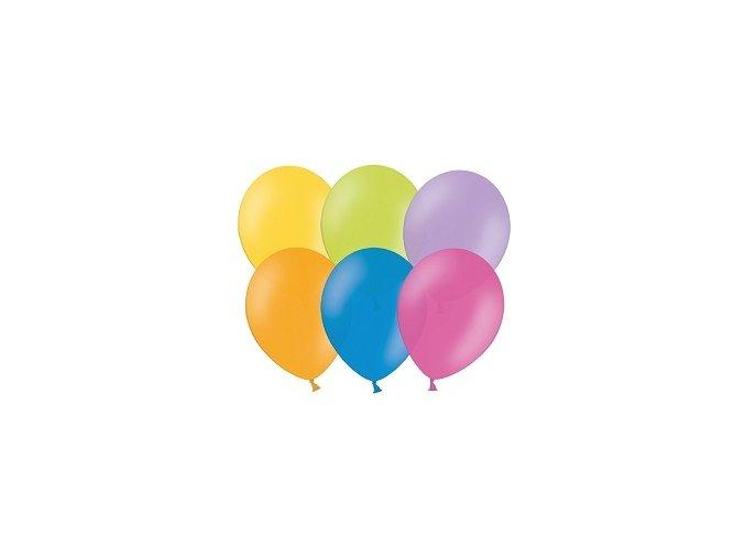Nafukovacie balóny obyčajné mix 50ks