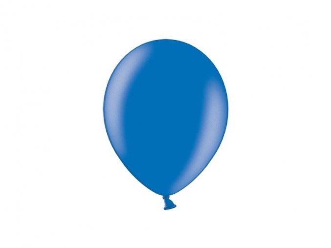 Lacny balon metalicky modry