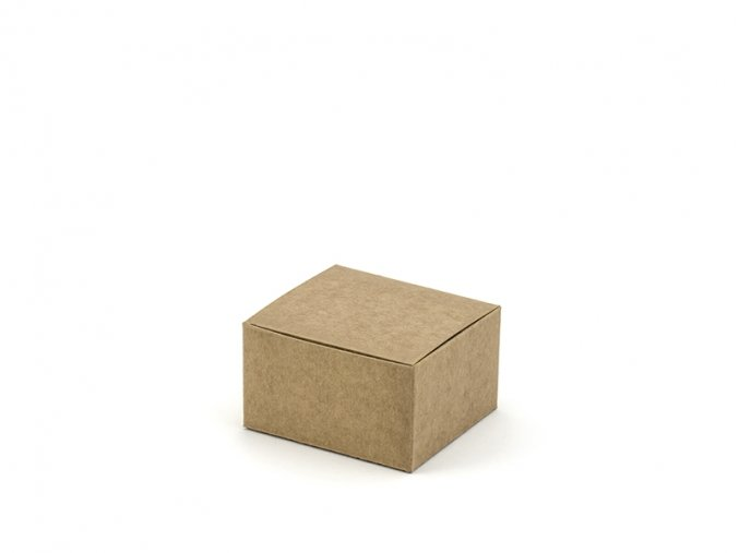 Krabicka na darceky hneda