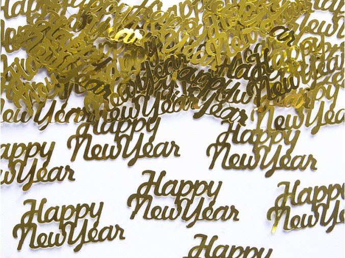 Konfety Happy new year