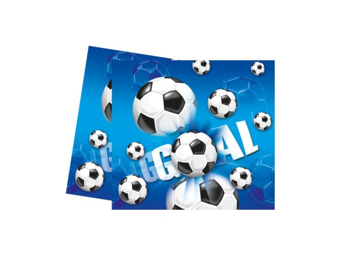 Obrus futbal moddry