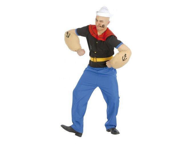 Kostým Pepek námorník