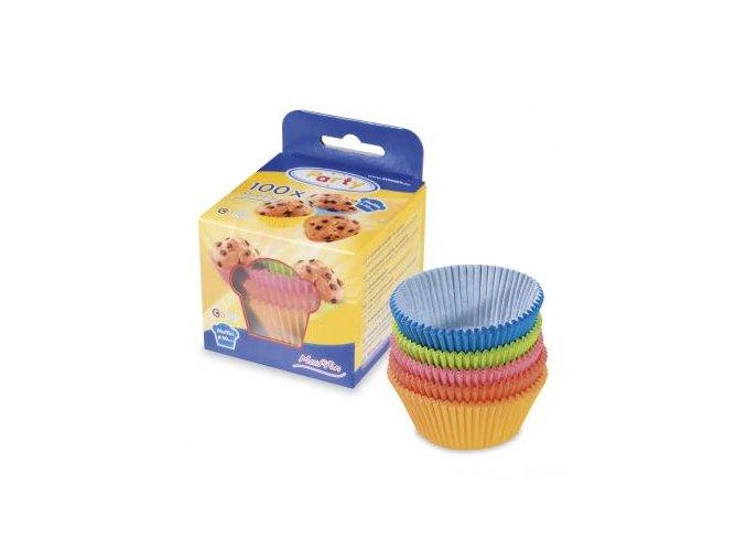 Cukrárenské košíčky na pečenie mix farieb