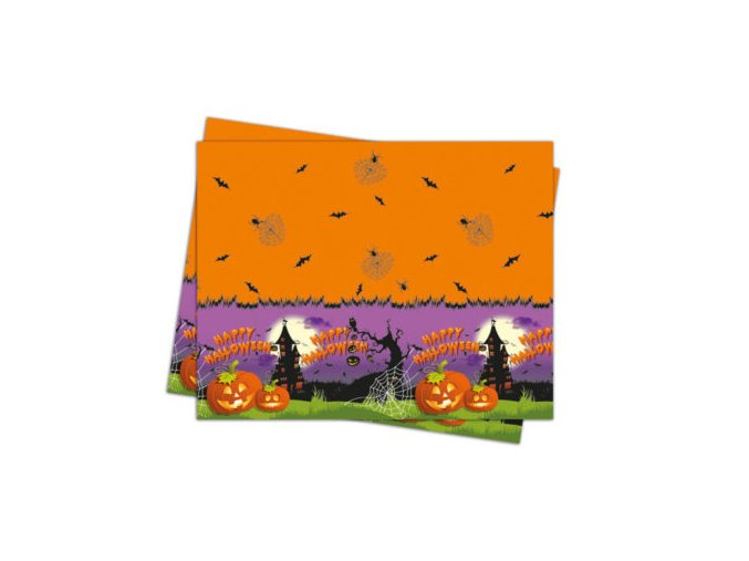 HAPPY SPOOKY HALLOWEEN TABLECOVER