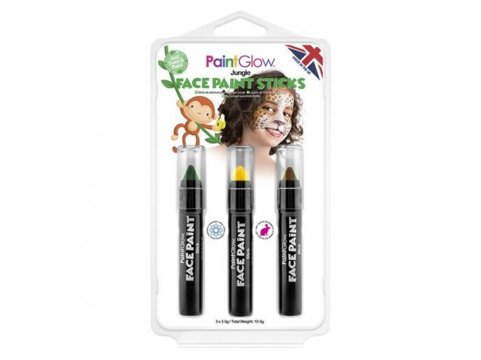 HP46 Jungle Face Paint Sticks grande