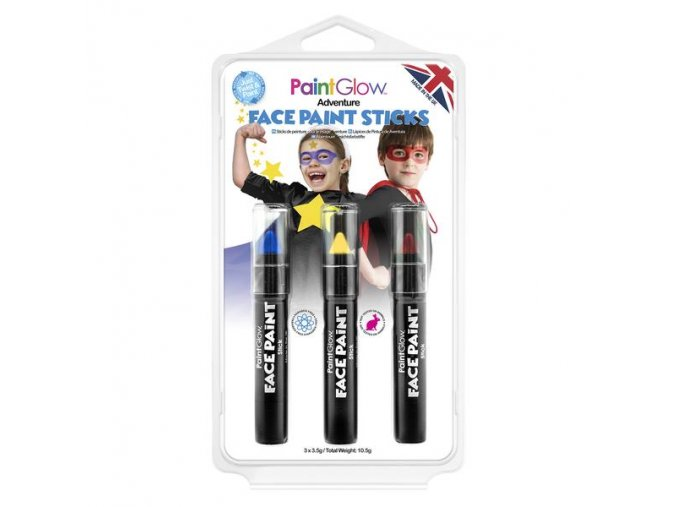 HP48 Adventure Face Paint Sticks grande