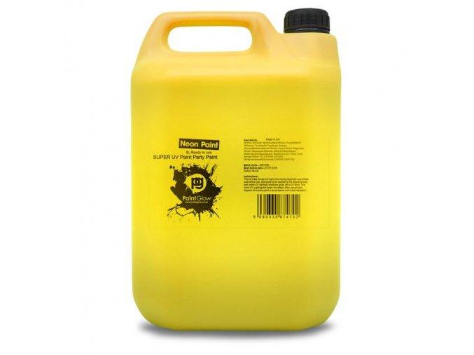 5L UV Body Splash Yellow grande