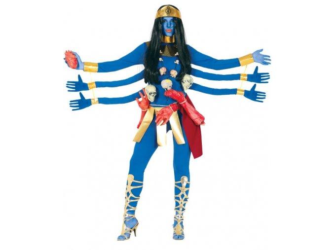 Dámsky kostým - Modrá bohyňa