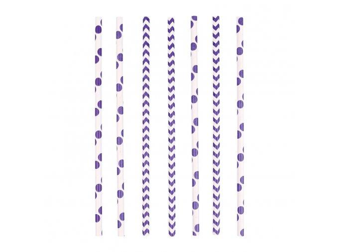 Slamky fialové