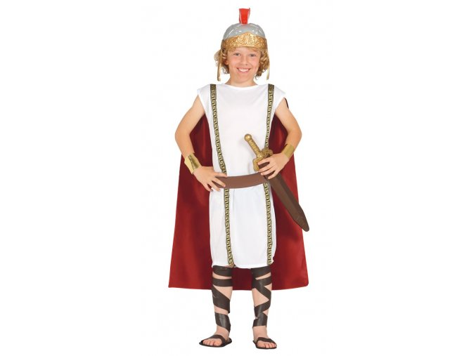 Kostým Rímana - detský (Veľkosti 10-12 rokov (výška 142-148cm))