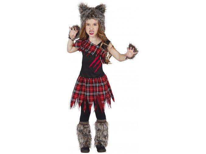 Detský kostým Vlka (Veľkosti 10-12 rokov (výška 142-148cm))