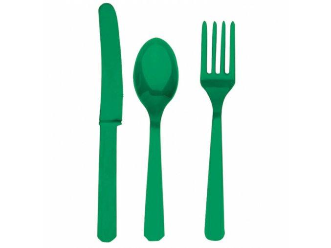 Príbor slávnostná zelená