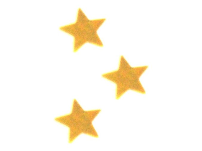 Konfety zlaté HVIEZDY 30 g