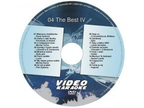 The Best IV DVD kompilácia